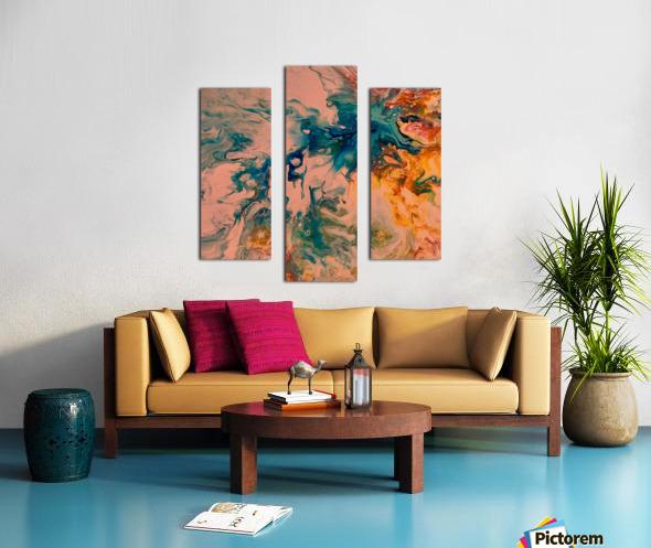 Joy Overflows Canvas print