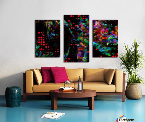 Zara life  Canvas print