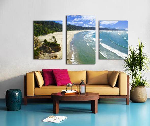Wild Oregon Coast Canvas print