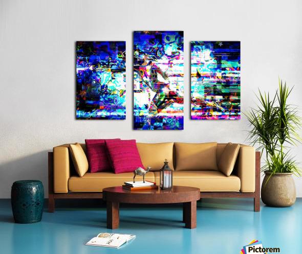 Flash1 Canvas print