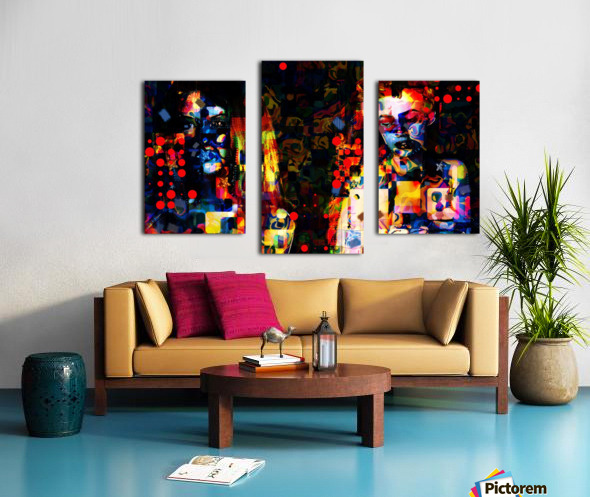 Anikaz Canvas print
