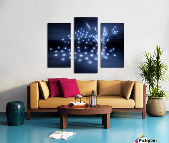 Sternenkinder stiller Ort der Seelen Canvas print