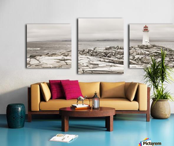 Peggys Cove Lighthouse Canvas print