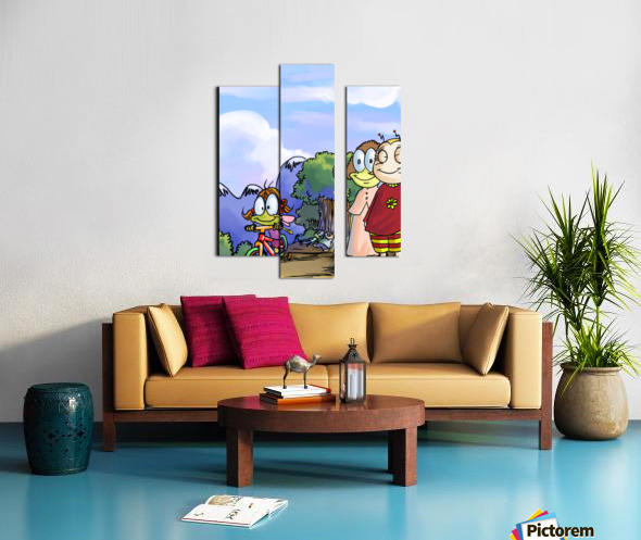 Moms and Dads Canvas print