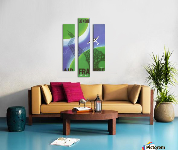Paris Londer Canvas print