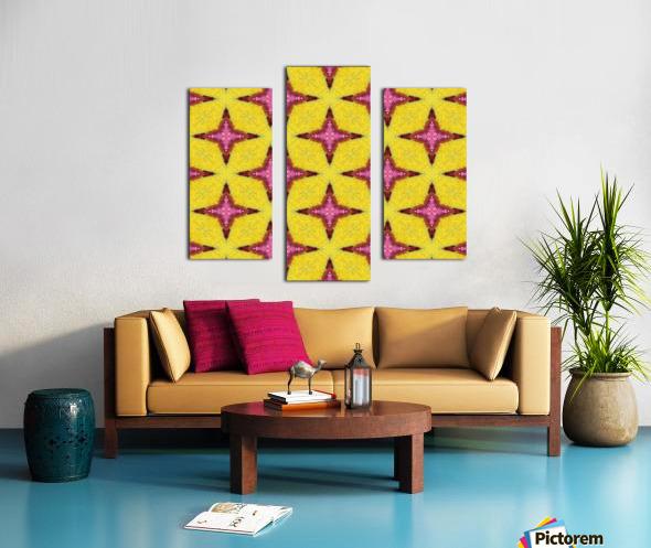 yellowpink Canvas print