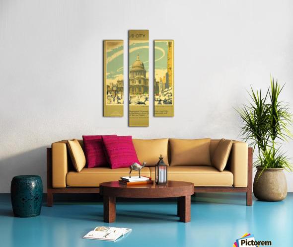 The Proud City Canvas print