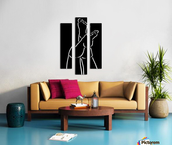 Legs 4 Canvas print