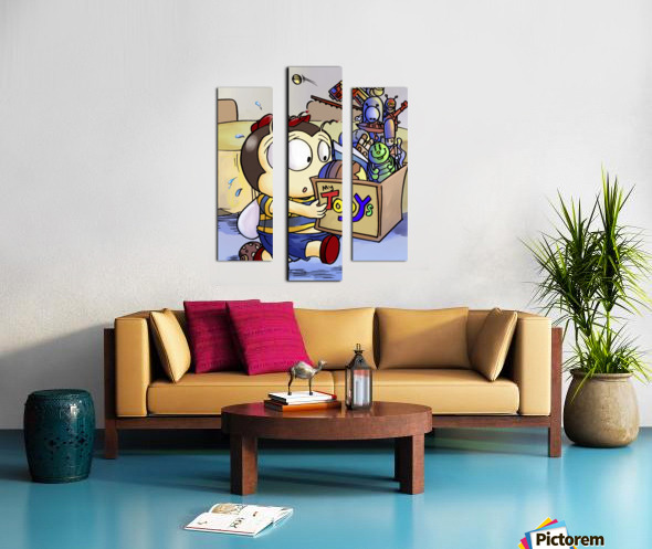 My Toys - Buster Bee Canvas print