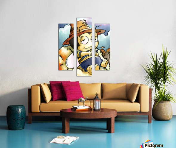 Its Country Buster Canvas print
