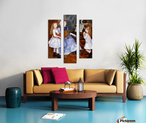 The daughters of Catulle Mendes Canvas print