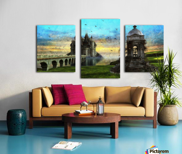 Height of Land Canvas print