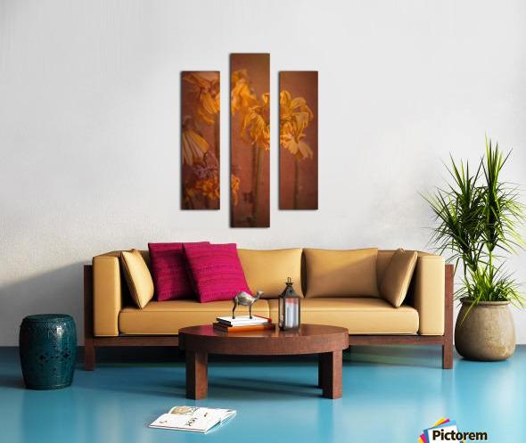 Etude Zen 7 p Canvas print
