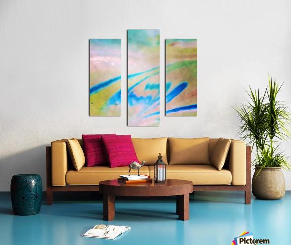 Pierce Anderson Swirls Canvas print