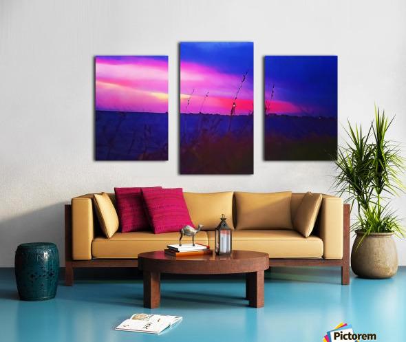Burst of Pink Canvas print