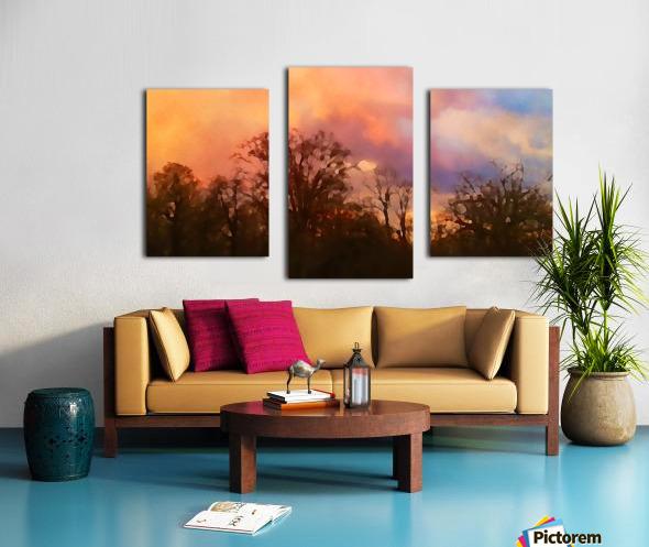 September Storm  Canvas print