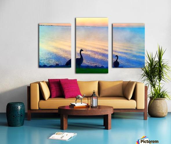 pierce anderson two birds Canvas print