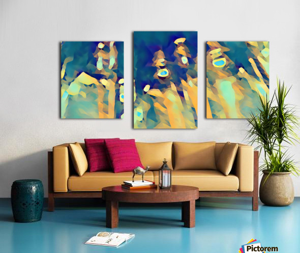 Inside of Glass Canvas print