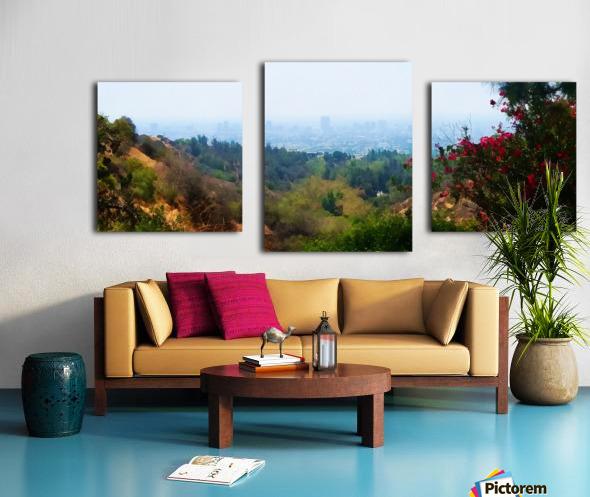 beauty of la Canvas print