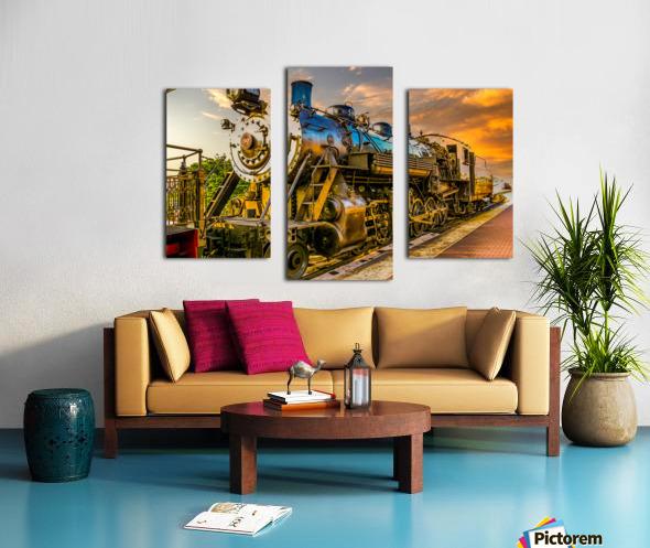 Strasburg 24 Canvas print
