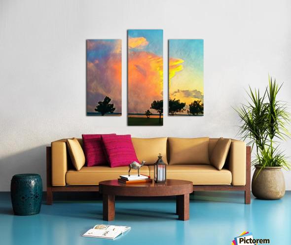 thunder cloud Canvas print