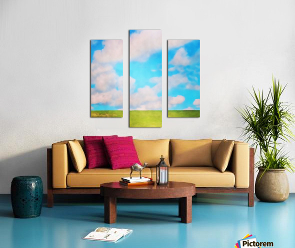 fluffy afternoon Canvas print