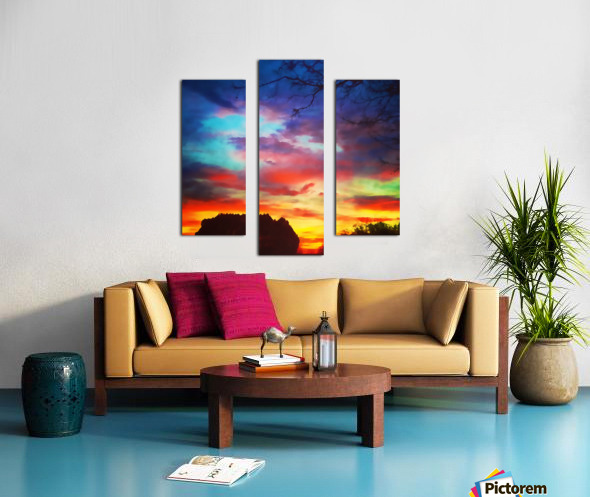 Bounty of Color Canvas print