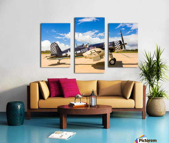 F4U Corsair Canvas print