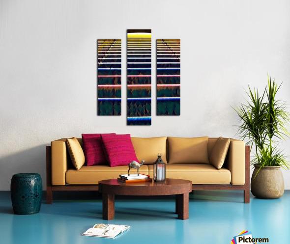 Window Blinds Canvas print