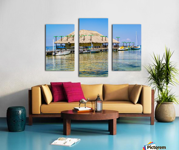 Ambergris Caye 3 Canvas print