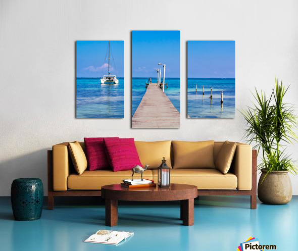 Ambergris Caye 1 Canvas print