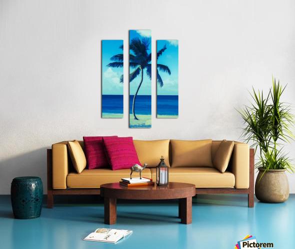 palm color 6 Canvas print