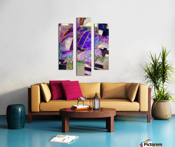 Full of wonder Canvas print