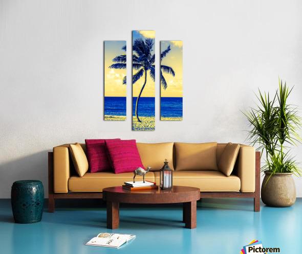 palm color 4 Canvas print
