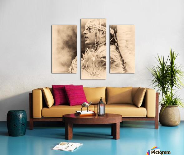 Native American 6 Canvas print