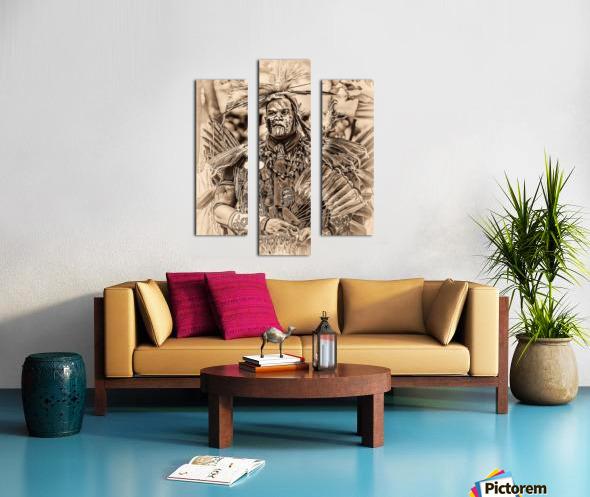 Native American 2 Canvas print