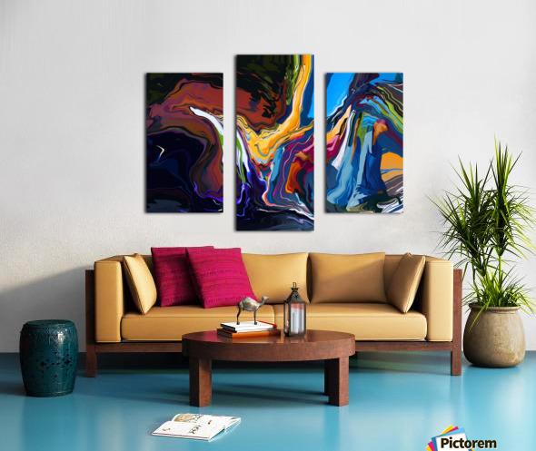 Blue Monaco Canvas print