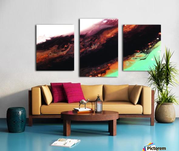 Geode II Canvas print