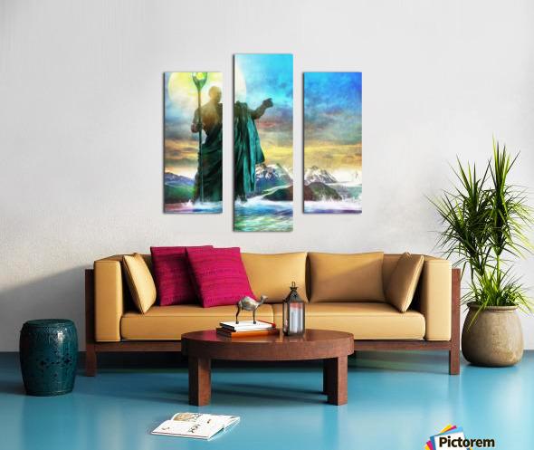 The Benevolent Light Canvas print