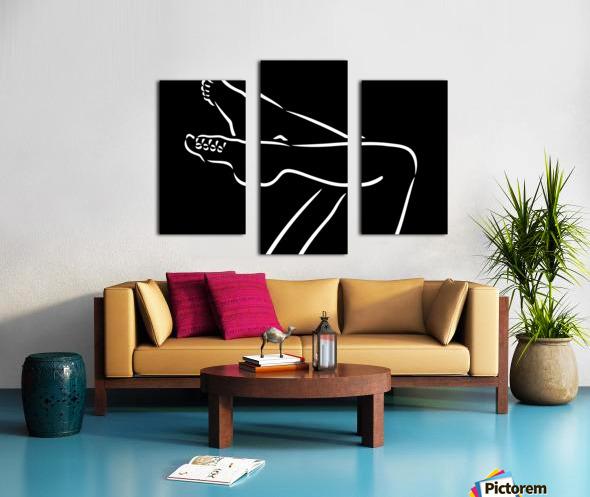 Legs 2 Canvas print