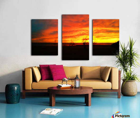 Evening Magic Canvas print