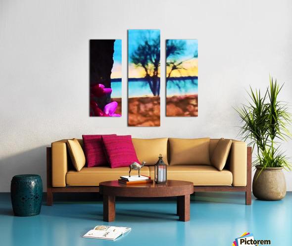 Two Seasons Canvas print
