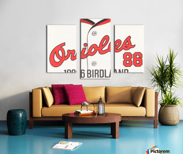 1986 Baltimore Orioles Metal Sign Canvas print