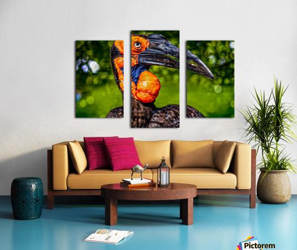 Ugly Bird Canvas print