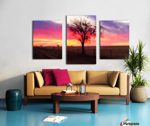 still morning Canvas print