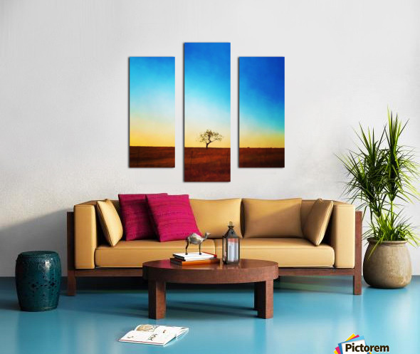 solitude tree Canvas print