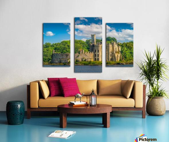 McDermott s Castle Ruins Canvas print