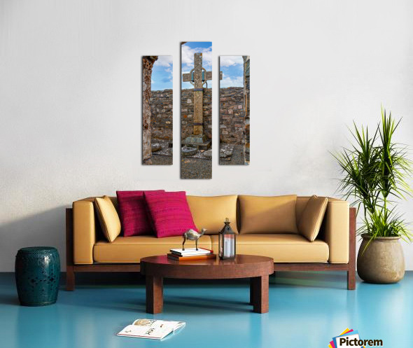 Colmcilles Cross Canvas print