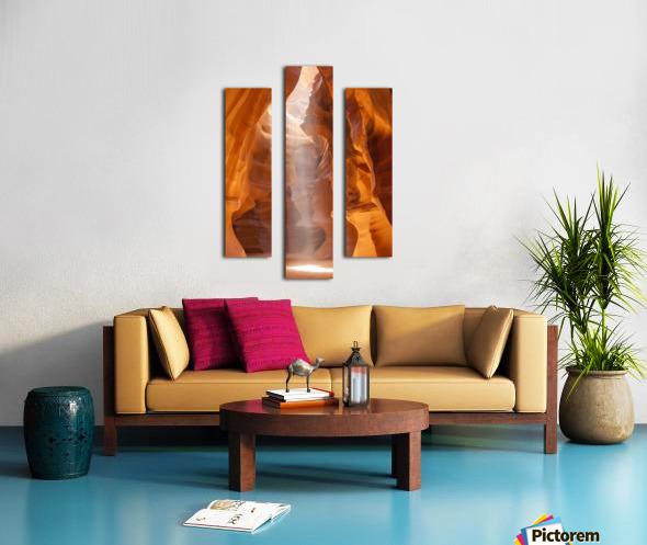 Beautiful Antelope Canyon Canvas print