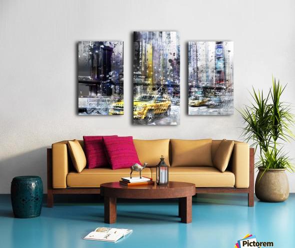 City-Art NYC Collage Canvas print